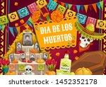 Day Of Dead  Mexican Dia De Lo...