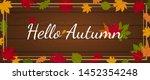hello autumn banner header...