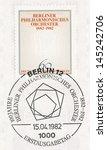west berlin   circa 1982  a...   Shutterstock . vector #145242706