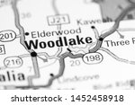 woodlake. california. usa on a... | Shutterstock . vector #1452458918