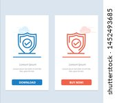 confirm  protection  security ... | Shutterstock .eps vector #1452493685