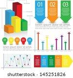 infographic elements | Shutterstock .eps vector #145251826