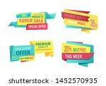 super sale exclusive offer week ... | Shutterstock . vector #1452570935