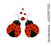 Ladybirds Isolated....