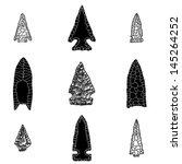arrowhead icons vector | Shutterstock .eps vector #145264252