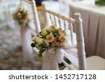 chairs wedding with banquet for ... | Shutterstock . vector #1452717128