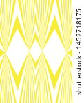 geometric color and pattern... | Shutterstock .eps vector #1452718175