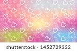 love card vector. illustration... | Shutterstock .eps vector #1452729332