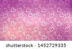 love card vector. illustration... | Shutterstock .eps vector #1452729335