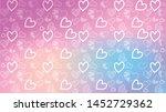 love card vector. illustration... | Shutterstock .eps vector #1452729362