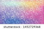 love card vector. illustration... | Shutterstock .eps vector #1452729368
