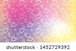 love card vector. illustration... | Shutterstock .eps vector #1452729392
