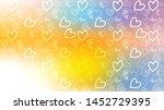love card vector. illustration... | Shutterstock .eps vector #1452729395