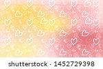 love card vector. illustration... | Shutterstock .eps vector #1452729398