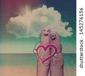finger family travels at the... | Shutterstock . vector #145276156