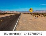 Burros Crossing Traffic Sign O...