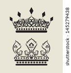 Crown Curl Decoration 3. Nice...