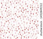 vector seamless pattern. many... | Shutterstock .eps vector #1452849212