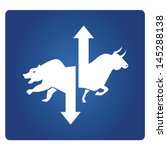 stock market symbol | Shutterstock .eps vector #145288138