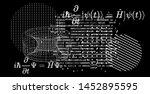 abstract scientific background... | Shutterstock .eps vector #1452895595