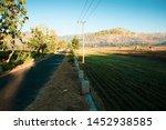 modern rural atmosphere with... | Shutterstock . vector #1452938585