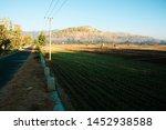 modern rural atmosphere with... | Shutterstock . vector #1452938588
