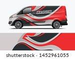 van wrap design. wrap  sticker... | Shutterstock .eps vector #1452961055