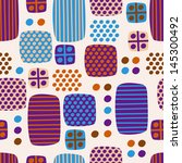 geometric abstract pattern for... | Shutterstock . vector #145300492