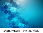 modern futuristic background of ... | Shutterstock .eps vector #1453074032