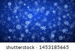 christmas background of complex ... | Shutterstock .eps vector #1453185665