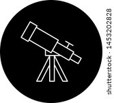 telescope icon for your project  | Shutterstock .eps vector #1453202828