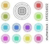big  business multi color icon. ...