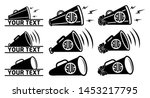 bullhorn icon    cheers... | Shutterstock .eps vector #1453217795