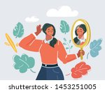 cartoon vector illustration of... | Shutterstock .eps vector #1453251005