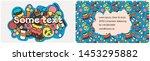 business card logo for pastry...   Shutterstock .eps vector #1453295882