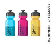 design concept for energy drink ... | Shutterstock .eps vector #1453320038