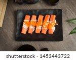 Crab Sticks Sushi Japanese Foo...