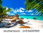 Typical Beach In Seychelles...