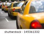 new york city cabs | Shutterstock . vector #145361332