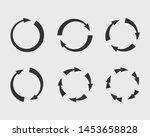 collection arrows vector... | Shutterstock .eps vector #1453658828