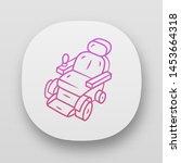 motorized wheelchair app icon....