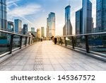 the modern building of the... | Shutterstock . vector #145367572