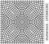 ancient mosaic ceramic tile... | Shutterstock .eps vector #1453681382