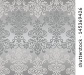 damask seamless pattern for... | Shutterstock .eps vector #145369426