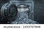3d Render Opening Of The Vault...