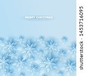 merry christmas party...   Shutterstock .eps vector #1453716095