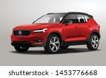 this is a realistic vector suv  | Shutterstock .eps vector #1453776668