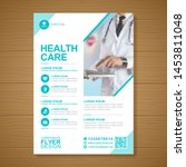 corporate healthcare cover a4... | Shutterstock .eps vector #1453811048