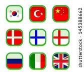 set of language icon  vector    Shutterstock .eps vector #145388662