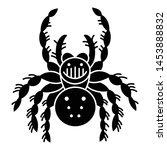 wildlife spider icon. simple... | Shutterstock .eps vector #1453888832
